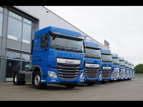 daf xf euro 6 w firmie intra youtube. Black Bedroom Furniture Sets. Home Design Ideas