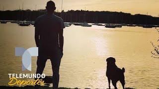 La conmovedora imagen de la perra de Emiliano Sala durante el funeral | Telemundo Deportes