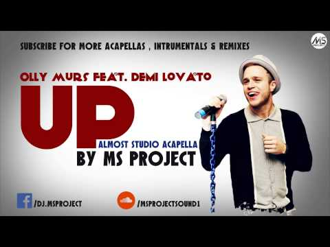 Olly Murs feat. Demi Lovato - Up (Official Acapella - Vocals Only) + DL Mp3