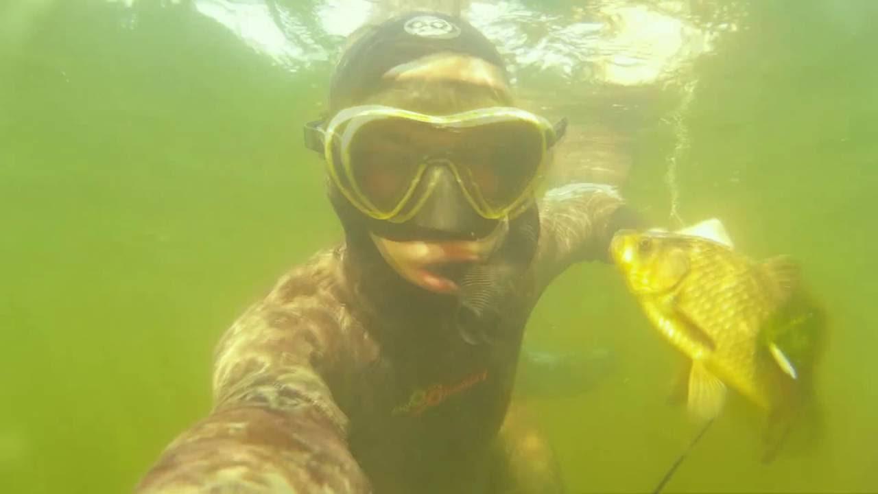 Подводная охота на   atmolandru
