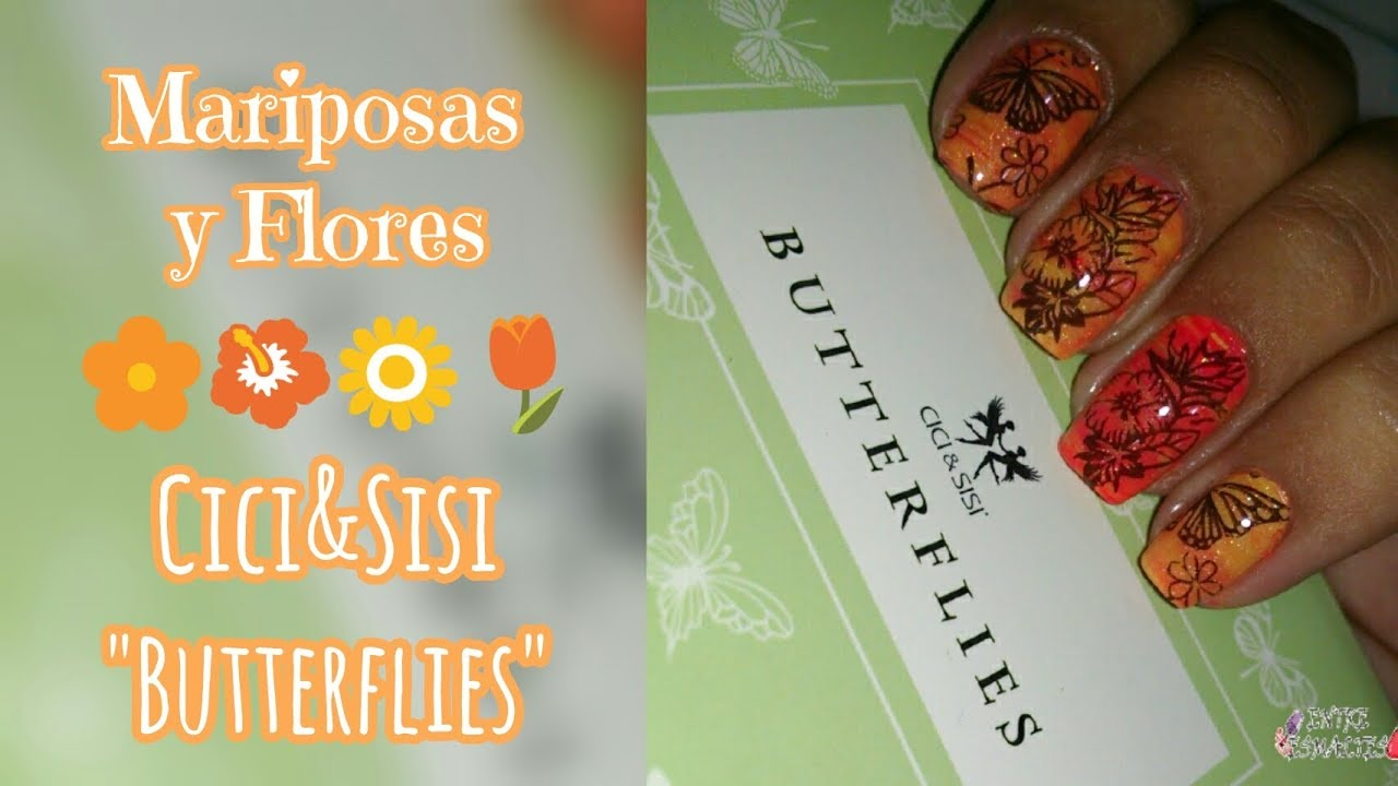 Vistoso Uñas Acrílicas Flores De Aguja Componente - Ideas de Pintar ...
