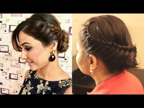 Hina Khan inspired hairstyle | celebrity hairstyles|best hairstyles for girls|indian hairstyles
