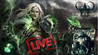 Diablo 3 - season 15 Start - Boon of the Horadrim / playing necromancer