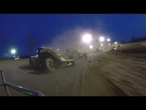 Tyler Thomas Lincoln Park Speedway April 22, 2017   ONBOARD