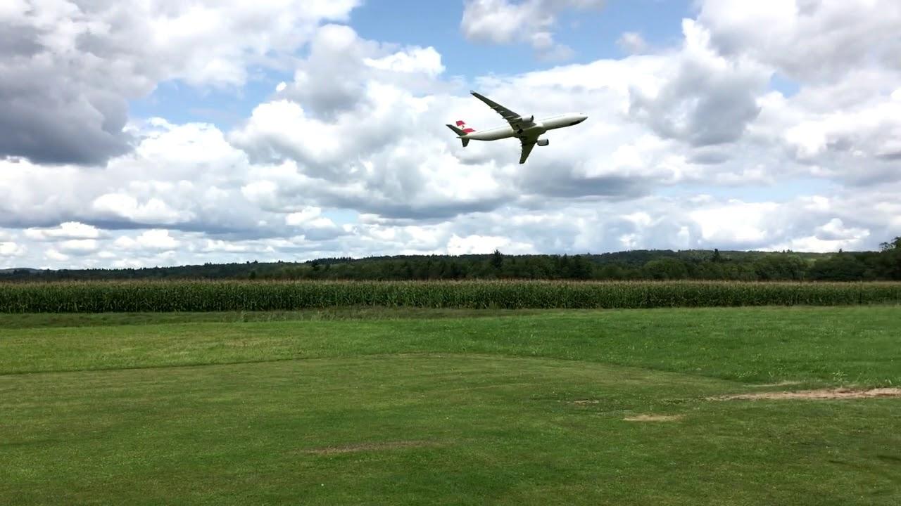 Airbus A 300 at MFG-Küssaburg - RC Flying site - YouTube