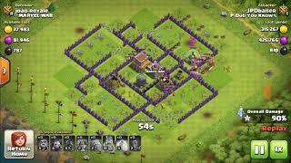 Dad's Big Loot Raids - Clash of Clans - Fun Hog Raid - Video 45