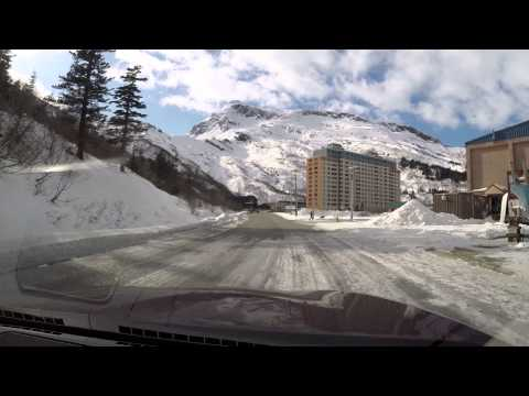 """Downtown"" Whittier, Alaska"