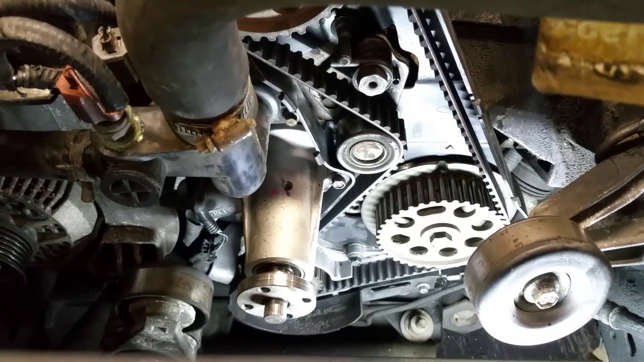 ford 2 3/2 5 common timing belt mistake! watch before doing timing belt! -  youtube