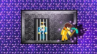 I Tried To ESCAPE THE IMPOSSIBLE PRISON in Minecraft!