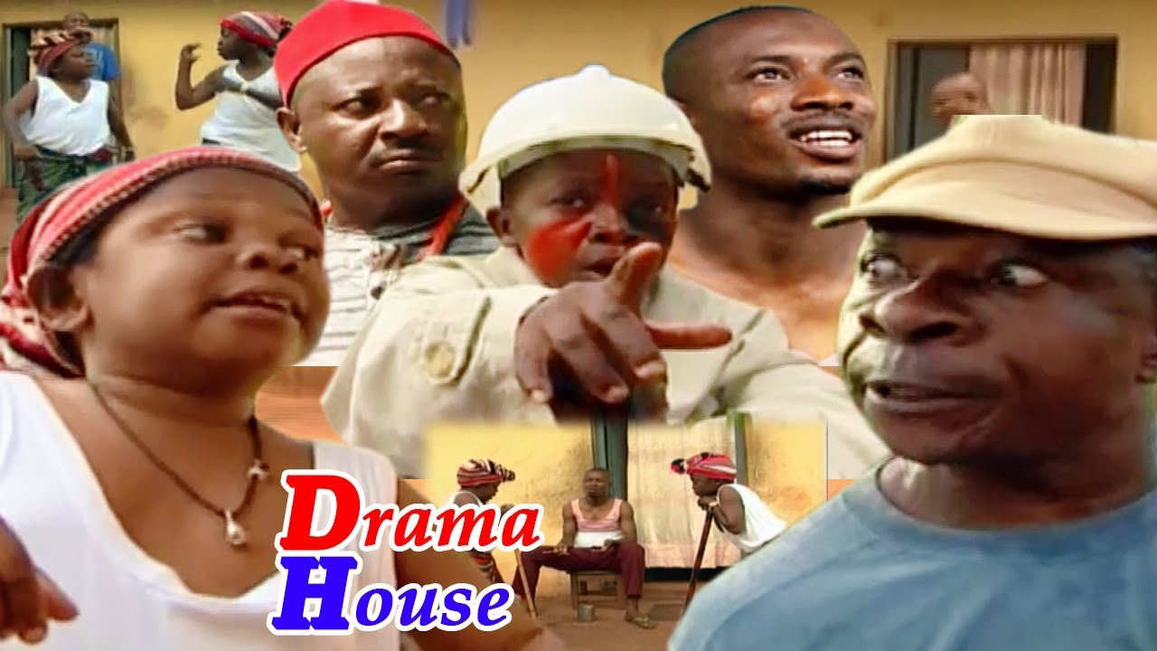 Download Drama House (Nothing Spoil Full Movie) - 2019 Latest Nigerian Comedy  Movie Full HD