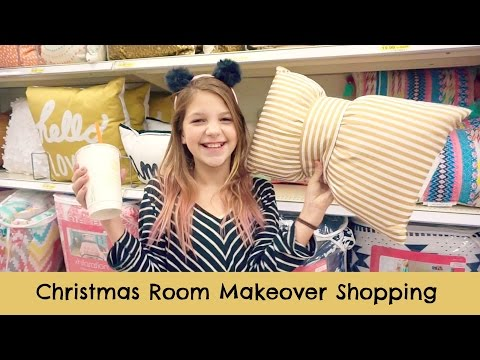 After School Christmas Room Makeover Shopping | Target & Hobby Lobby