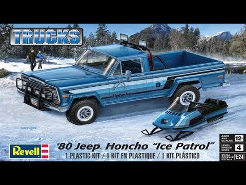 How to Build the 1980 Jeep Honcho Ice Patrol 1:24 Scale Revell Model Kit 85-7224