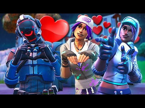 THE VISITOR FALLS IN *LOVE* WITH TEKNIQUE SISTERS *SEASON X* - A Fortnite Short Film