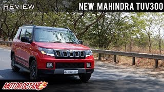 New Mahindra TUV300 Review | हिंदी | MotorOctane