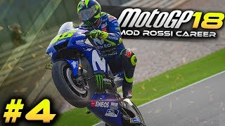 MotoGP 2018 Mod Rossi Career Mode Part 4 | Jerez (MotoGP Game Gameplay 2018)