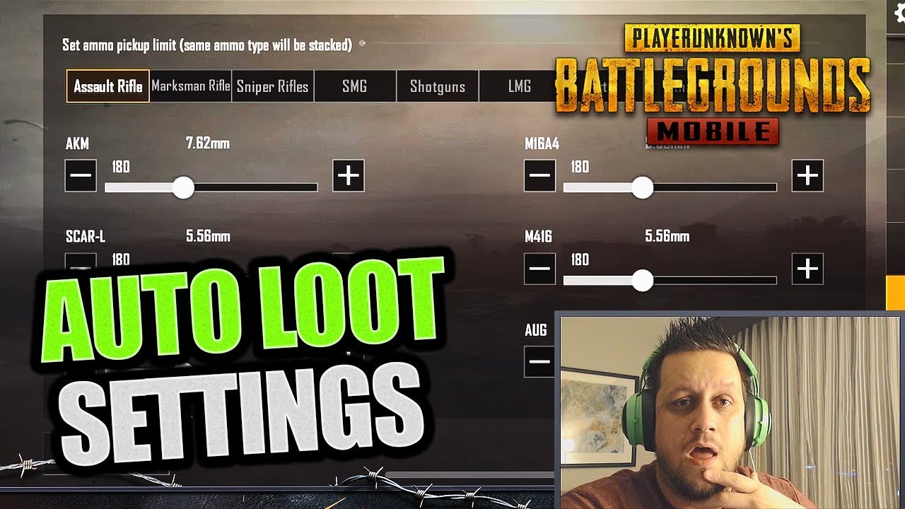 CRAZY FAST LOOT! FULL AUTO-LOOT SETTINGS - PUBG Mobile