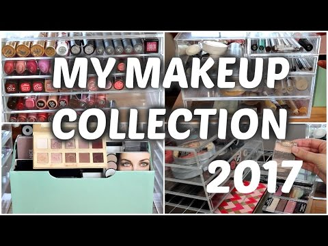 Makeup Collection and Storage 2017
