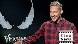 Venom – Interview: Tom Hardy