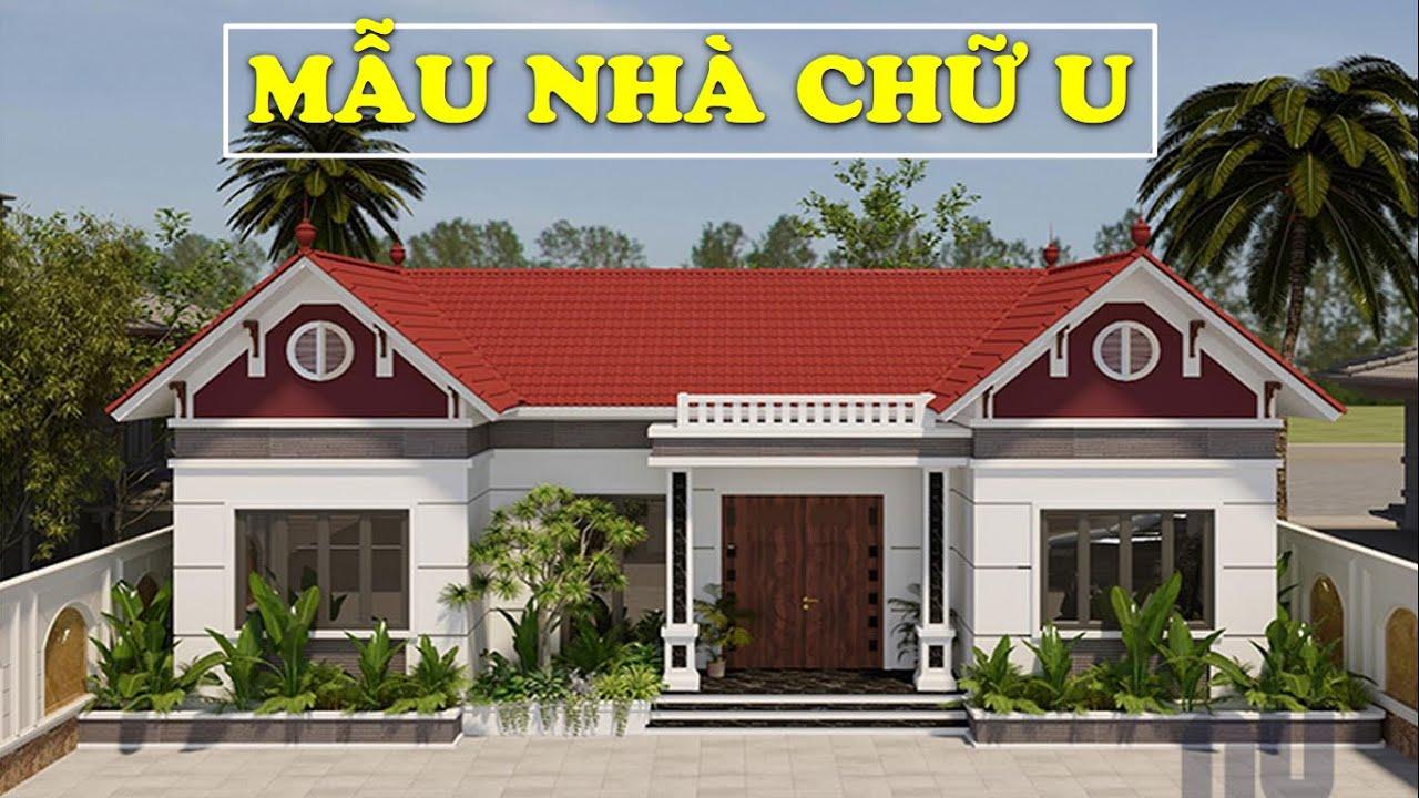 Mẫu Nhà Chữ U Có 4 Phòng Ngủ   Kiến Trúc Nhà Đẹp