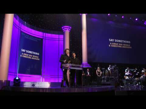 GRAMMY Awards 2015 - Best Pop Duo/Group Performance - A Great Big World ft Christina Aguilera
