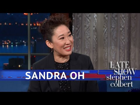 Sandra Oh's Whirlwind Year Of Hosting Gigs