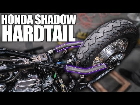 Making the Hardtail - Honda Shadow Bobber Build | Ep. 2