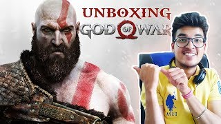 Unboxing GOD OF WAR  | Day One Edition | Saxisam | Indian Hindi Gamer