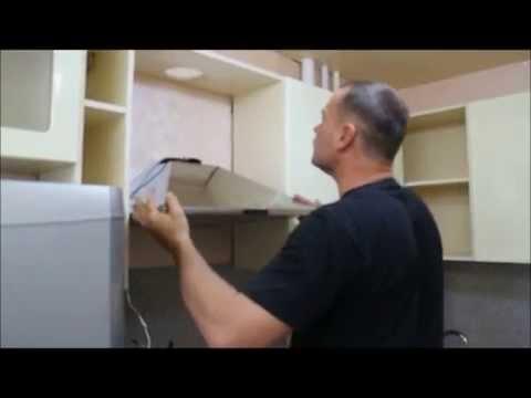 Как правильно расположить вытяжку на кухне