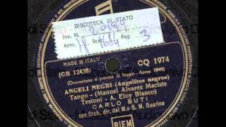 Carlo Buti - Angeli negri (con testo).wmv