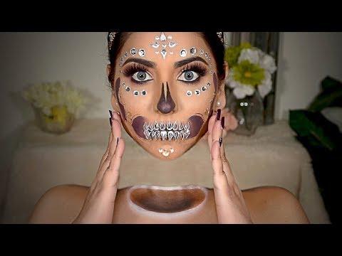 Detached Floating Head Halloween Makeup Tutorial || Optical Illusion