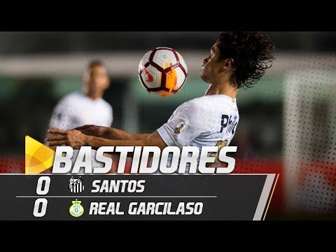 Santos 0 x 0 Real Garcilaso | BASTIDORES | Libertadores (24/05/18)
