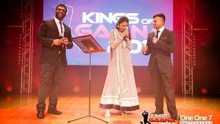 #01 Kutti Hari VS Pragathi Guruprasad   Kings of Gaana 2014