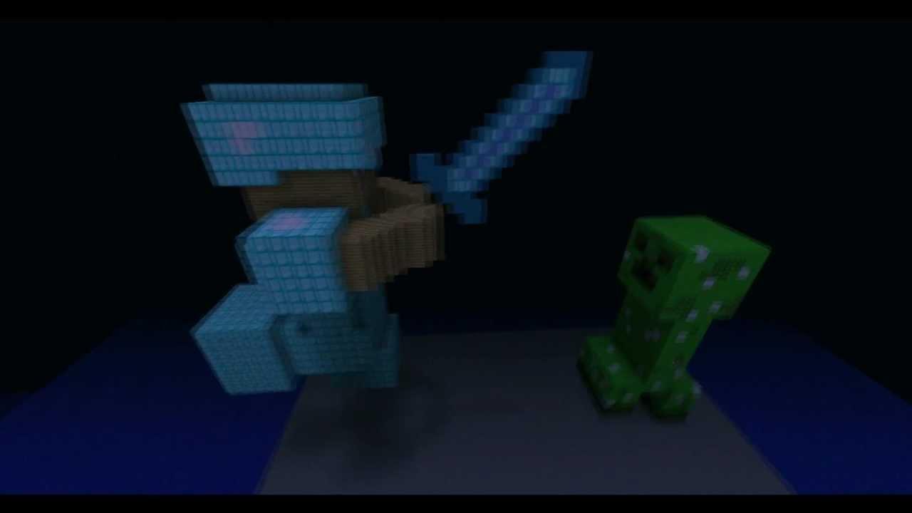 Minecraft: I Gave Steve Some Diamond Armor...   YouTube