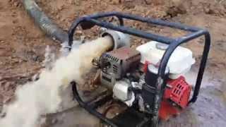 видео Мотопомпы для чистой и грязной воды