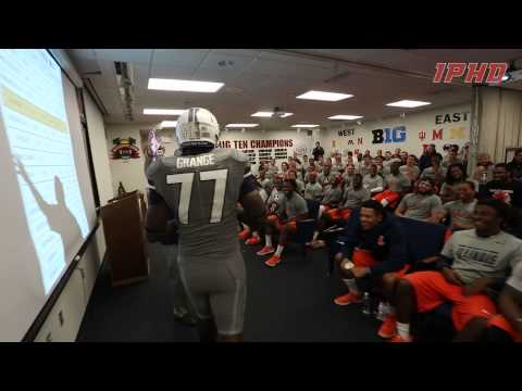 Gray Ghost Uniform Reveal  //  Illinois Football