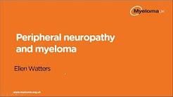 Peripheral neuropathy and myeloma