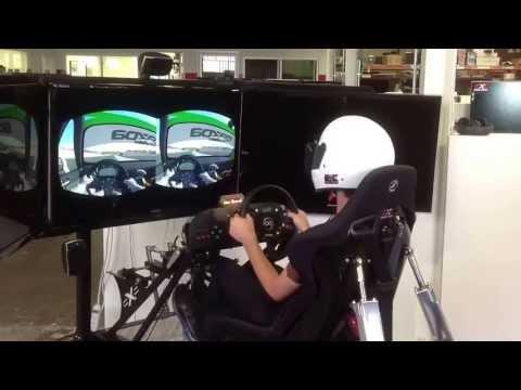 Oculus Rift Testing On A Motion Pro II Racing Simulator
