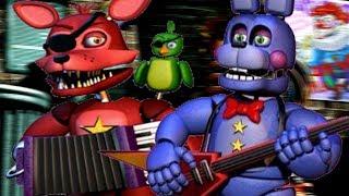 ROCKSTAR BONNIE AND ROCKSTAR FOXY ATTACK | Fazbear World The Final Nights (Five Nights at Freddys 6)