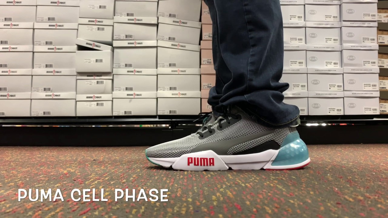 TAKE A LOOK, The Puma Cell Phase - YouTube
