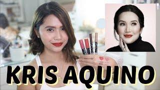 KRIS AQUINO x EVER BILENA Makeup Review | Anna Cay ♥