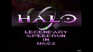 [WR] Halo: CE Legendary Speedrun in 1:16:02