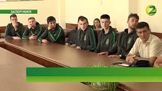 В Запорізькій мерії вшанували команду ЗНТУ - чемпіона СБЛУ. Сюжет ТК Z
