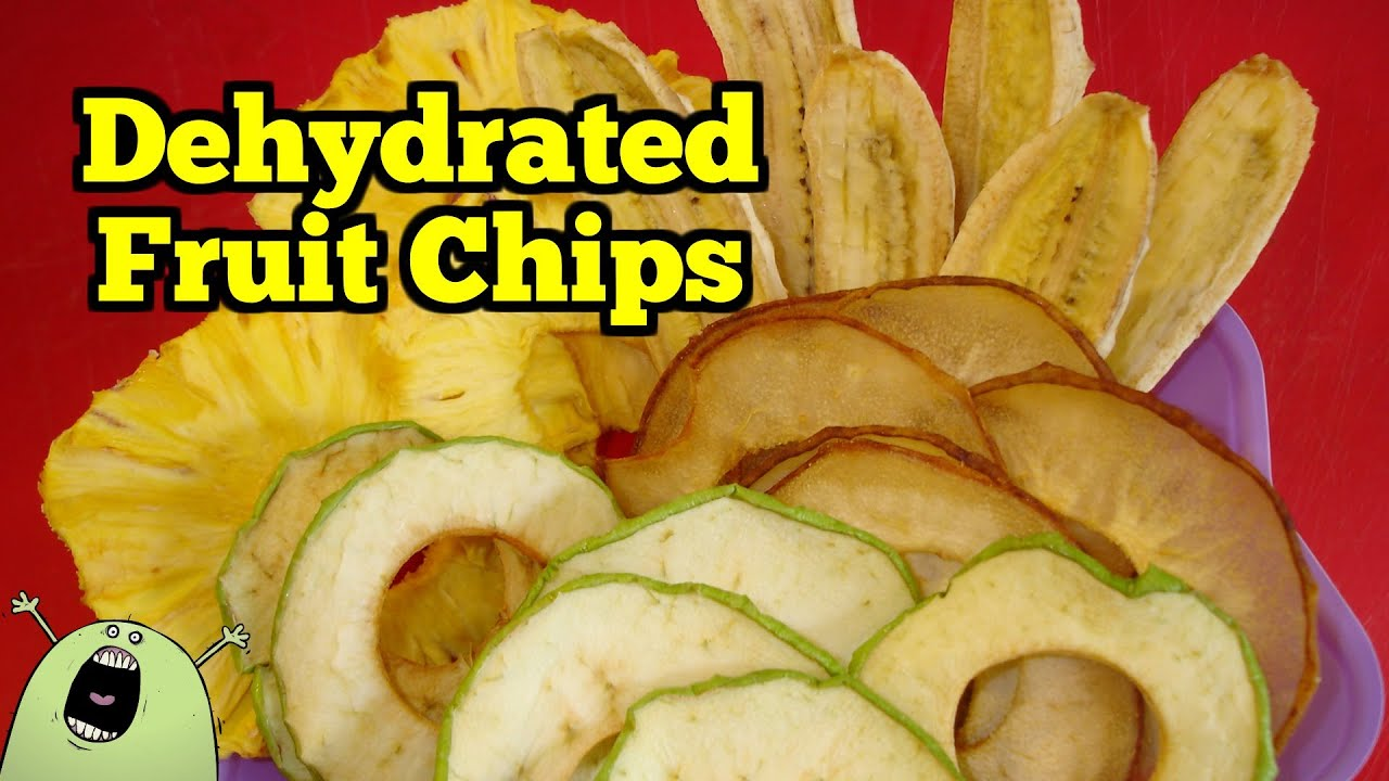 Fruit Chips In An Excalibur Dehydrator