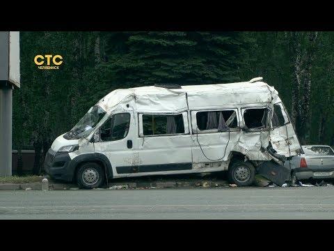 Столкновение мусоровоза и микроавтобуса: возбуждено уголовное дело