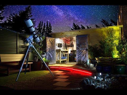 Home Observatory Setup For Astrophotography (First Time Setup & Testing)