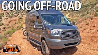 Taking a Transit 4x4 Camper Van Off-Road in Utah   Van Life S2:E11