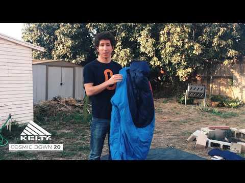 Kelty Cosmic Down 20 Sleeping Bag Video Review