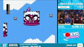 Mega Man 2 by duckfist in 28:40 - Awesome Games Done Quick 2016 - Part 137
