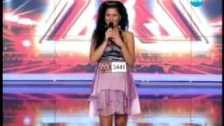 X Factor Bulgaria 2011- Sanny Alexa (Alexandra Apostolova) 1st casting