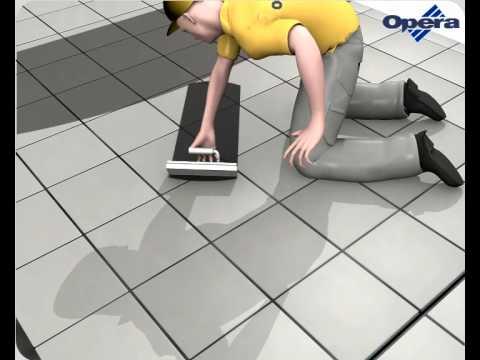 Opera Laying Procedure - Industrial Flooring